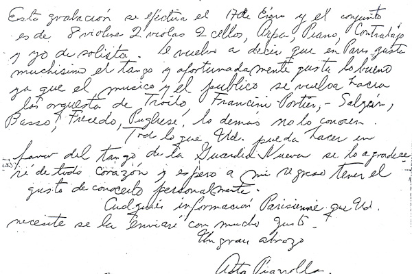 Letter from Paris to José Gobello 4