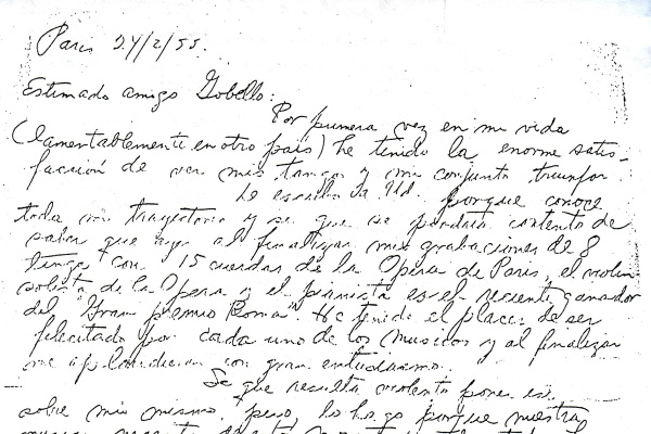 Letter from Paris to José Gobello 3